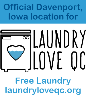 """Official """"Laundry Love QC"""" sponsor location"""