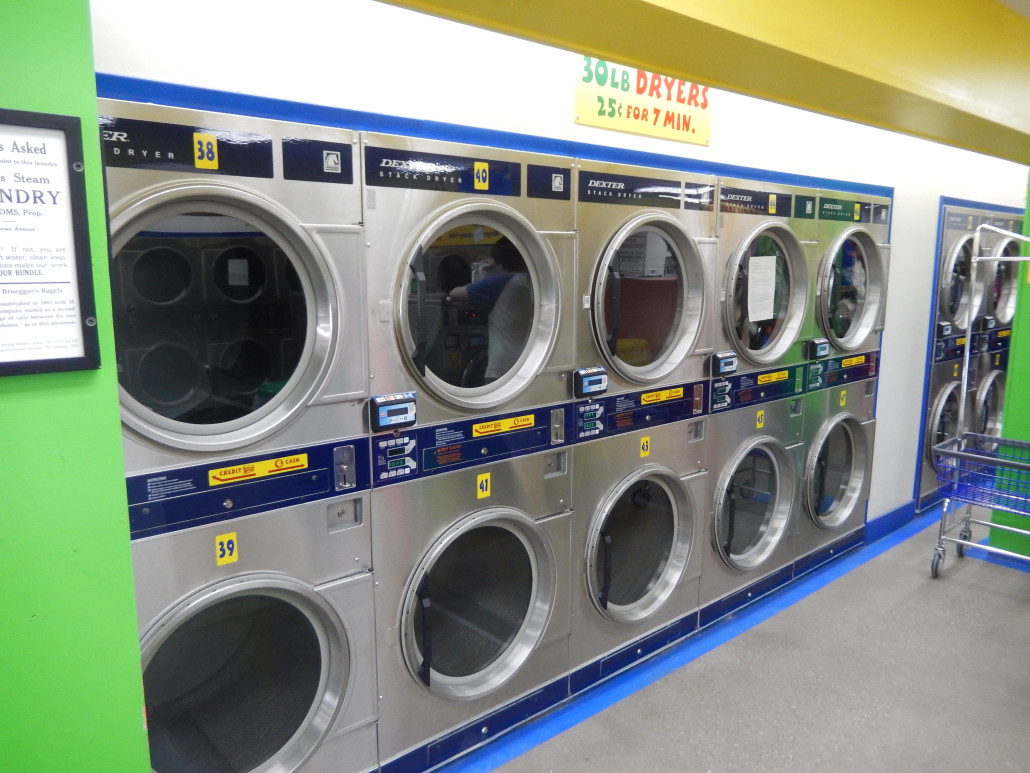 24hr laundromat in iowa city bloomington street downtown ic 30lbs stacked dryers at bloomington street laundromania downtown iowa city solutioingenieria Choice Image