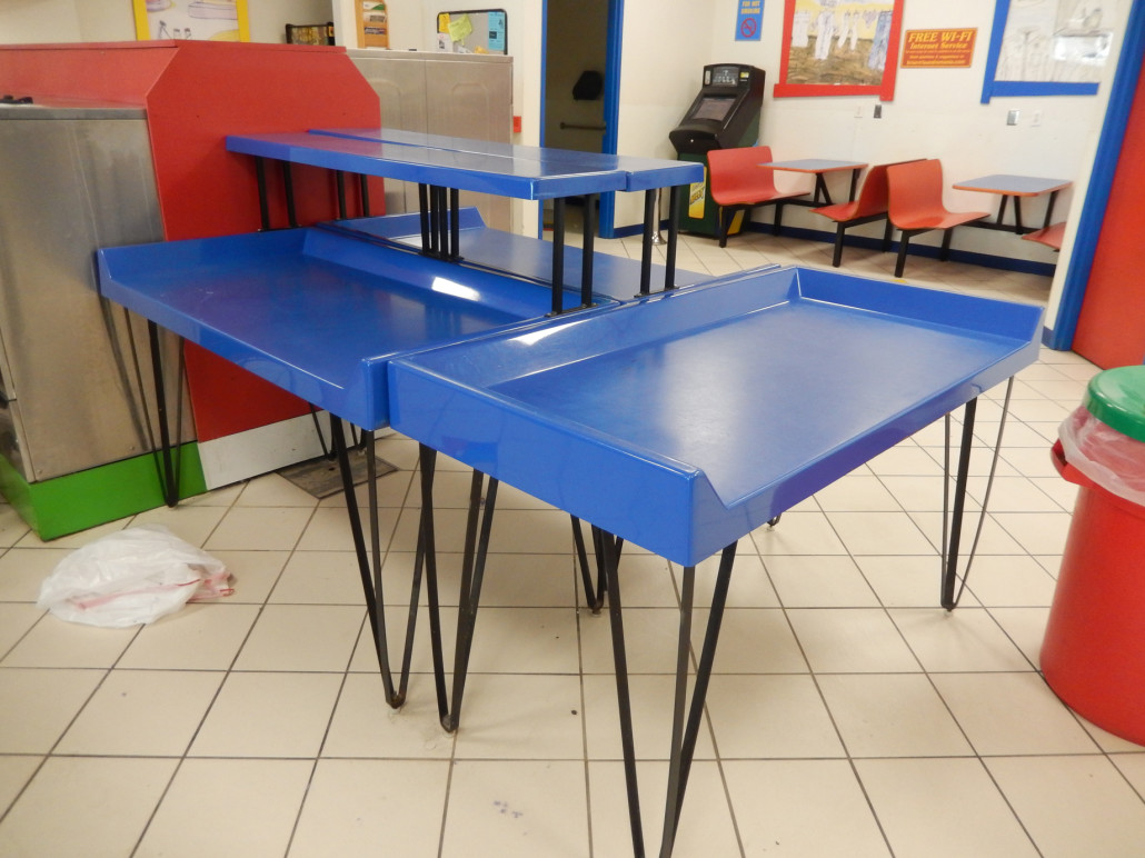 Commercial Laundry Folding Table Tables Vended