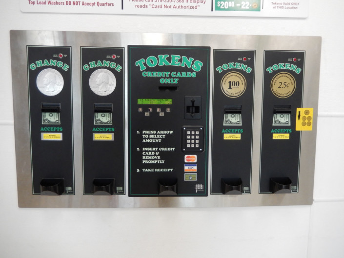 Change and Token machines