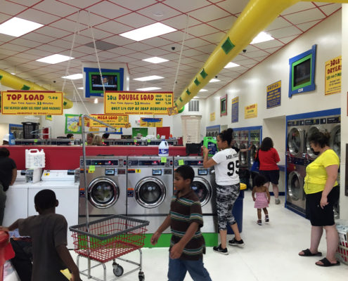Laundromania and Laundry Love QC Free Laundry Washing Event in Davenport, Iowa in September