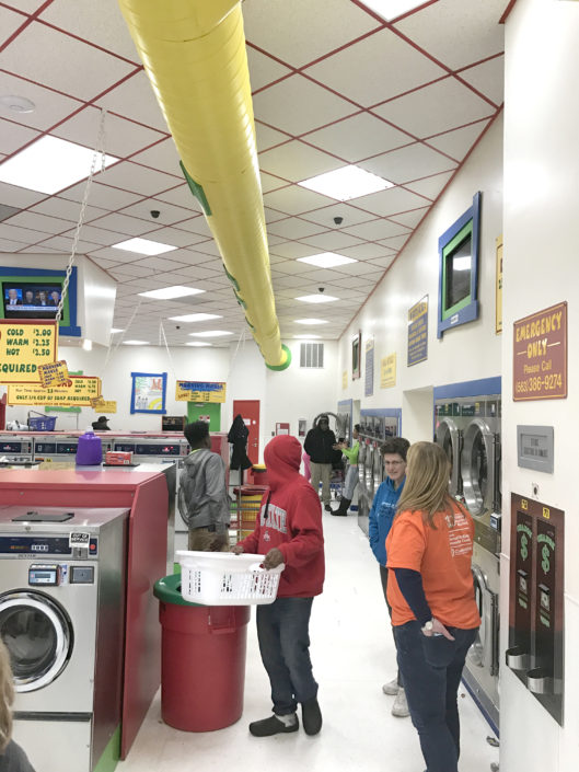 Quad Cities Free Laundry evnt in January 2017